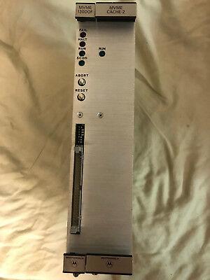 Cache Accelerator (Motorola MVME131XT VME 32 bit CPU Module with Cache-2 Accelerator 01-W1335B01)
