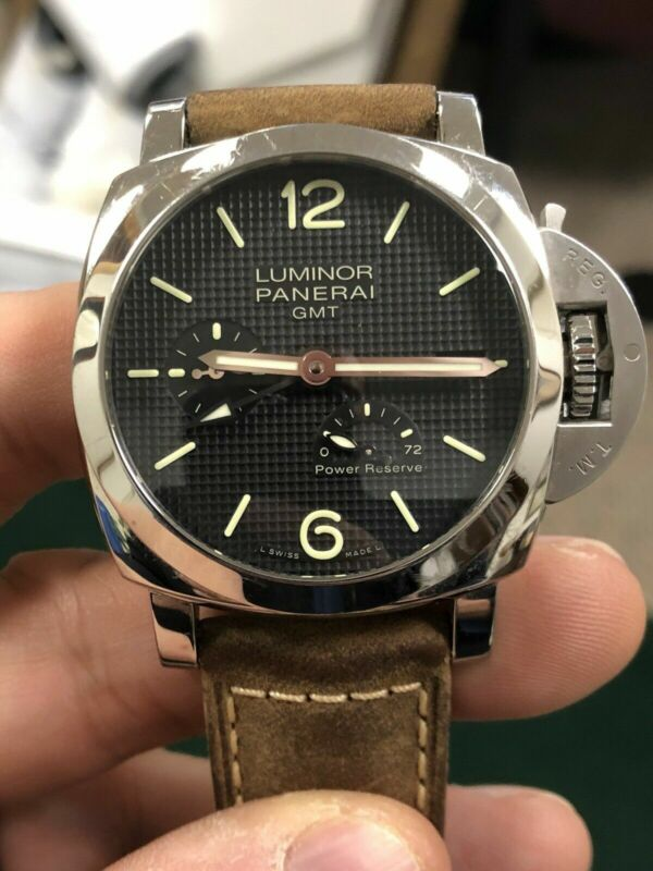 Panerai Luminor 1950 Automatic Black Dial Men's Limited To 1,000! PAM00537 - watch picture 1