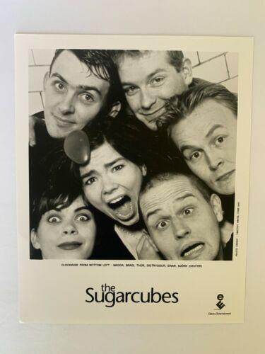 SUGARCUBES BJORK Elektra 8x10 Promo Press Photo from 1988 MINT