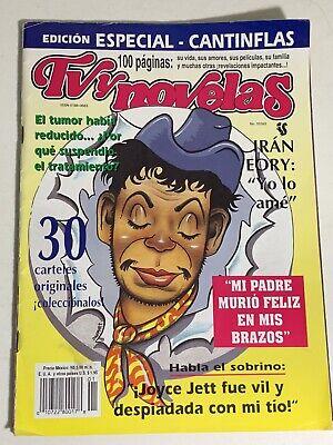 Cantinflas Revista Magazine Edicion Especial 1993 TV y Novelas