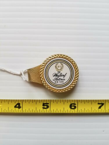 Vintage Money/Tie Clip Waldorf Astoria Hotel NYC