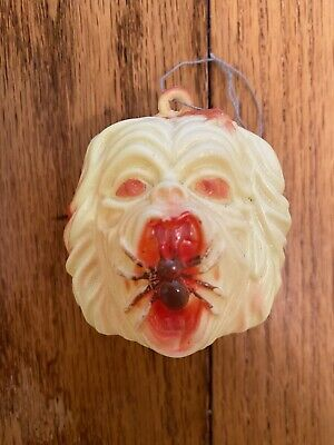 Ma-Ba Maba Zombies Bootleg Knock-off Vintage Blow Mold Candy Head Spider Mouth