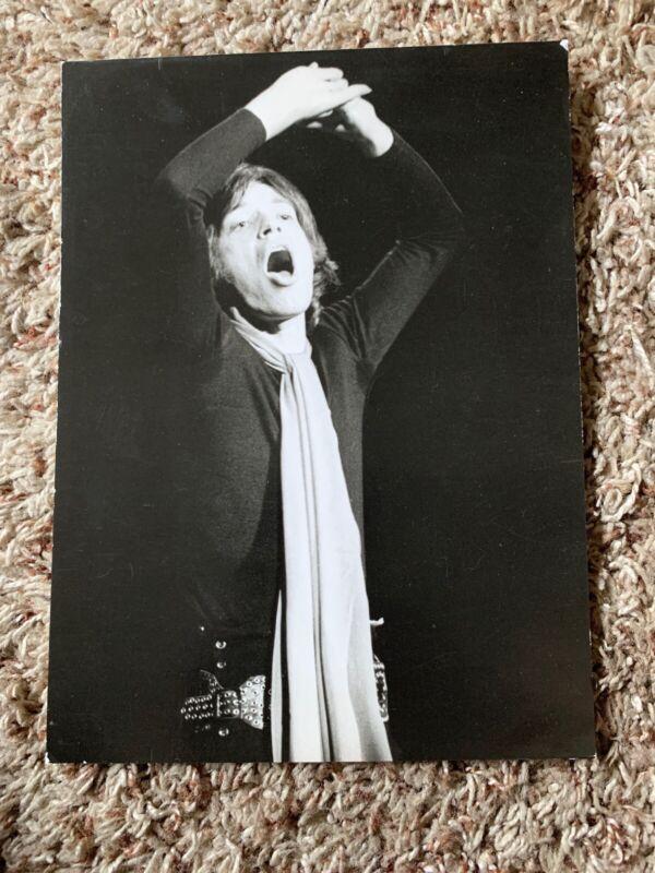 Vintage Original Press Photo Mick Jagger Rolling Stones Holland Press Amsterdam