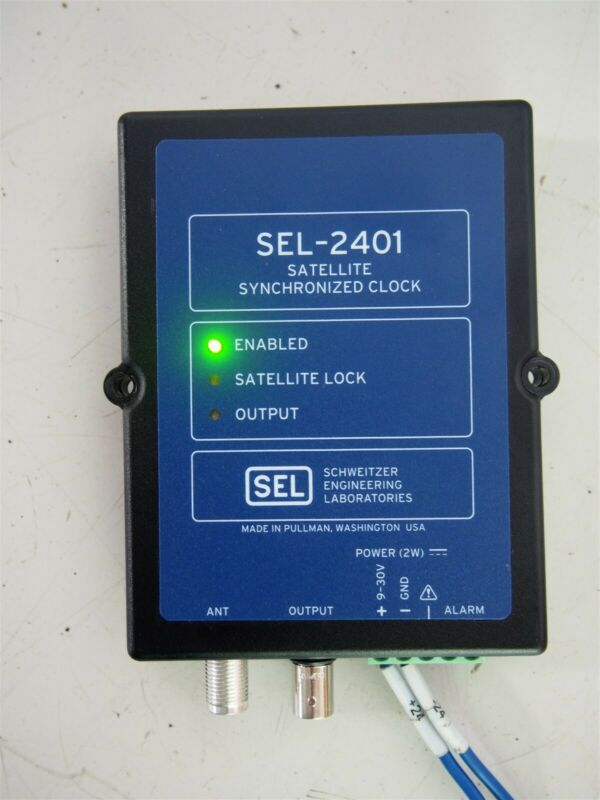 Sel SEL-2401 Satellite Synchronized Clock