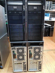 Hp Z800 Workstation 1x Xeon E5630 2.53GHz 12GB RAM 500GB HDD Win 7 Tower PC