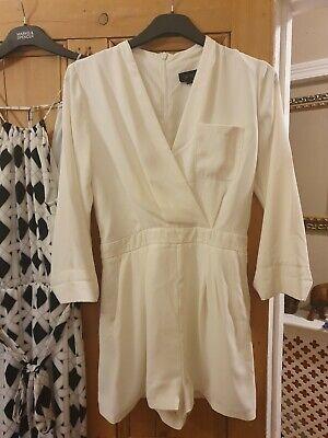 river dress size 6 topshop jumpsuit 8