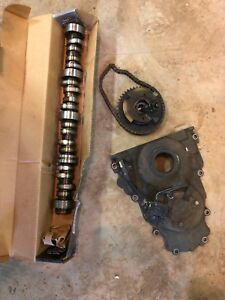 6.2 camshaft and front cover