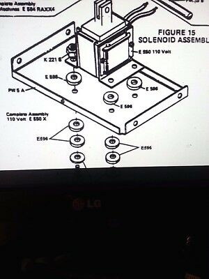 Better Pack 555 Sl Replacement Part Used Solonoid Assembly