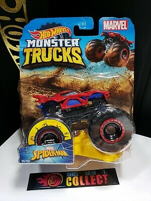 2019 HOT WHEELS MONSTER JAM TRUCKS MARVEL SPIDERMAN 30/50 - J1
