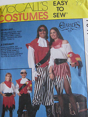 Spats, Gaiters, Puttees – Vintage Shoes Covers McCalls 7347 Pirate Sea Wench Dress Spats Jacket Pants SEW PATTERN Size 8-10 NEW $3.99 AT vintagedancer.com