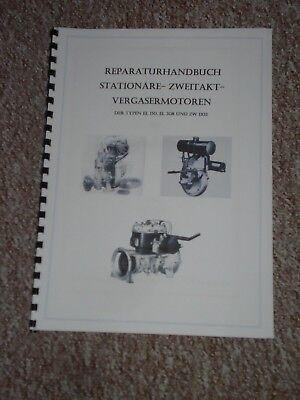 Reparaturhandbuch EL 150, EL 308, ZW1103 Stationärmotor Standmotor DDR Nachdruck - Stand Handbücher
