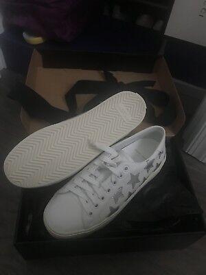 Saint Laurent Star Platform Sneakers 38