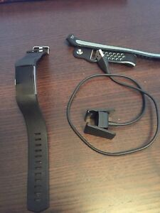 Fit bit watch with charger and extra band