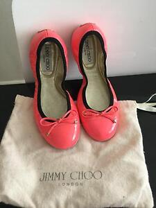 Jimmy Choo Wallach Patent ballet shoes Ramsgate Rockdale Area Preview