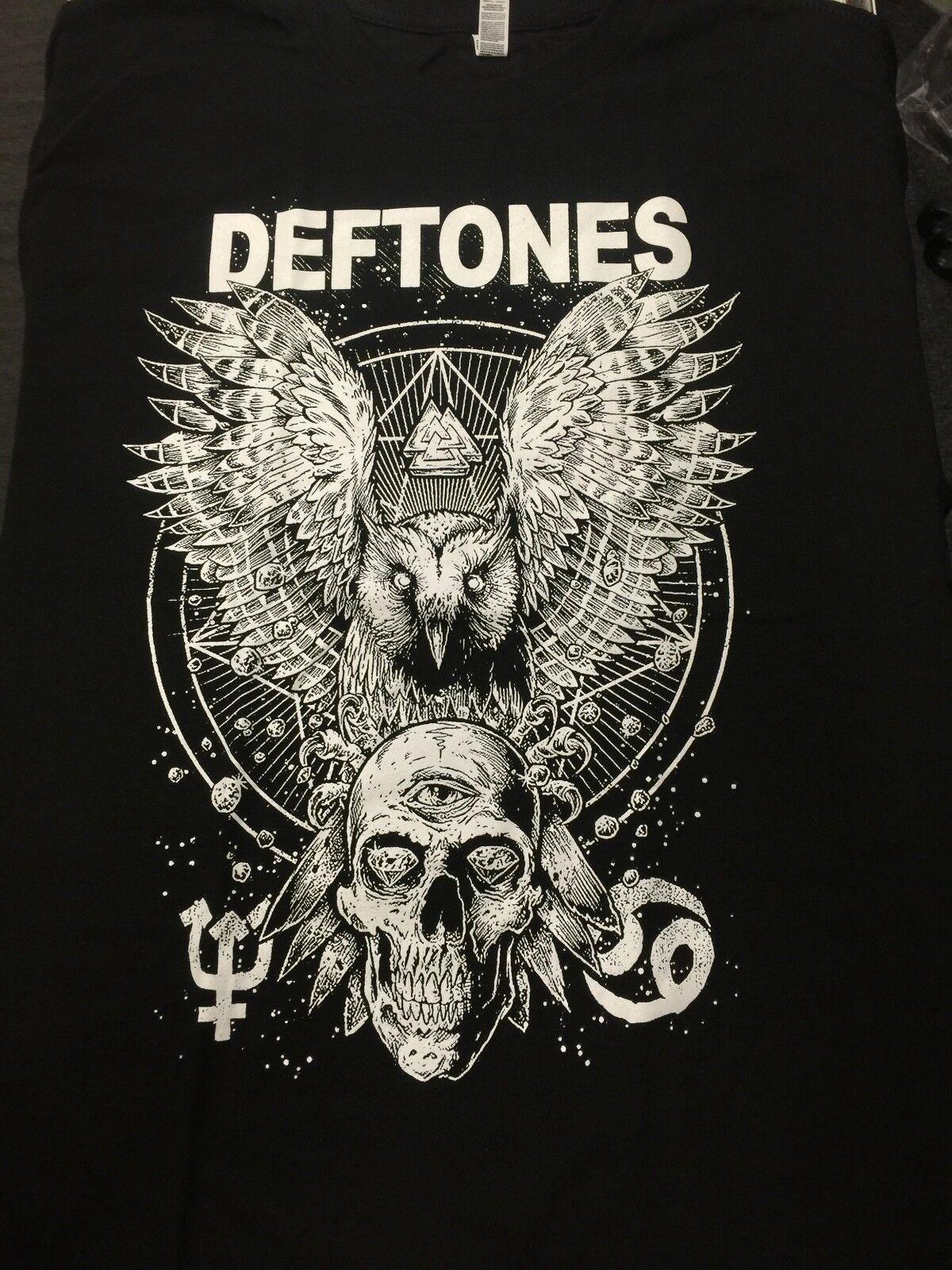 Deftones Owl Logo Gothic Hard Rock Heavy Metal Punk Alternative Death