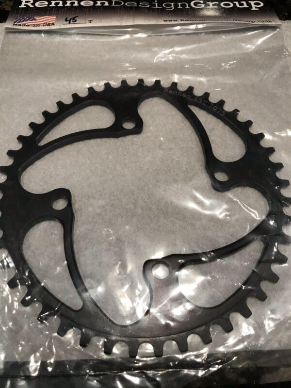 RENNEN design 4 bolt BMX chainring black