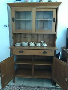 Antique Baltic pine buffet Sandgate Brisbane North East Preview