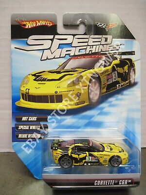 Hot Wheels Speed Machines Chevy Corvette C6R #3 Jake Compuware Chevrolet MOMC