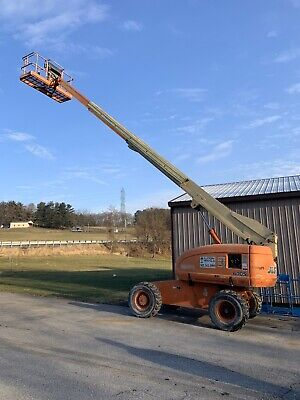 Jlg 600s 4x4 60ft Telescopic Boom Lift Man Lift Aerial Lift Boom Manlift
