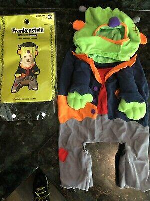 Dog Green Frankenstein Halloween Costume Size MD](Frankenstein Dog Halloween Costume)