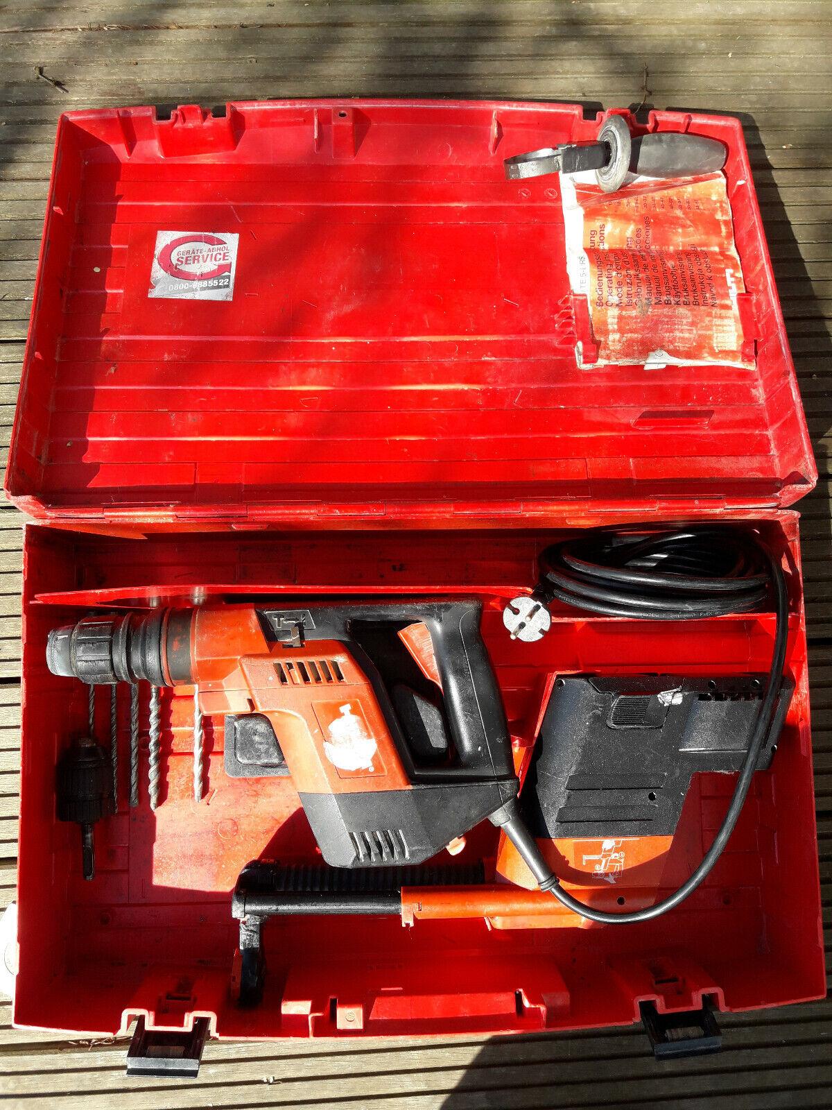 Hilti TE 5 Bohrmaschine Bohrhammer incl. Staubabsaugung DRS mit  Koffer!