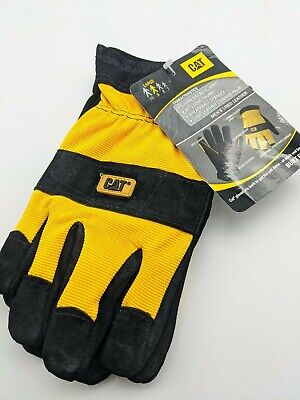 Caterpillar Cat Split Leather Lined Insulated Work Gloves X-large