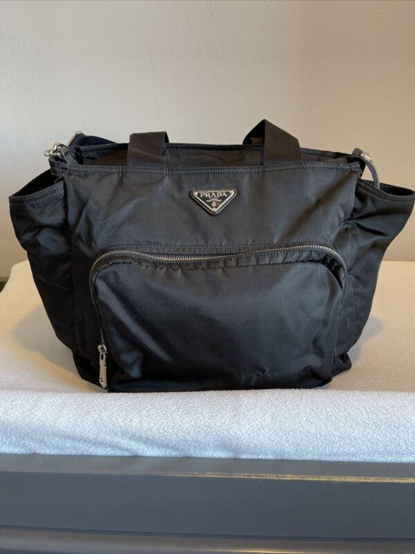 Authentic Prada Diaper Bag