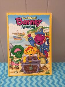 Barney Book the official Barney Annual