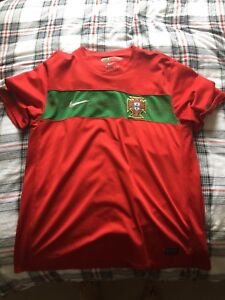 Portugal Soccer Jersey Nike Size Large