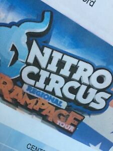 VIP NITRO CIRCUS TICKET Stanford Merthyr Cessnock Area Preview