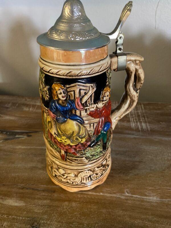 Vintage German Beer Stein Musical