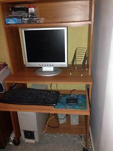 Computer plus Computer Desk For Sale! Inverell Inverell Area Preview