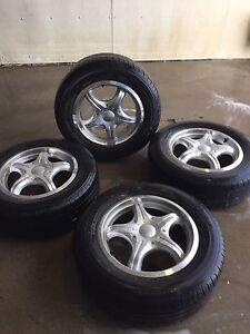 225/60/16 falken tires and rims