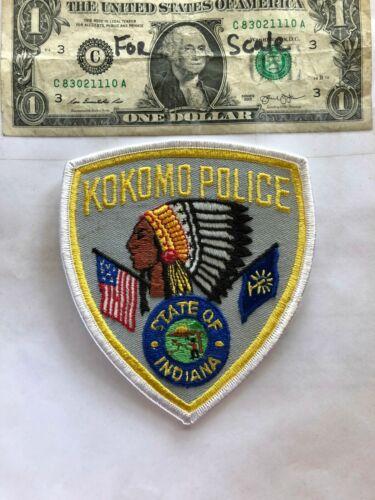 Kokomo Indiana Police Patch Un-sewn great shape