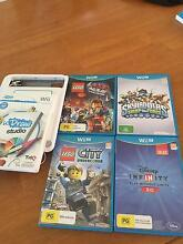 ASSORTED WII U GAMES AND WII DRAW TABLET $65 THE LOT Warwick Joondalup Area Preview