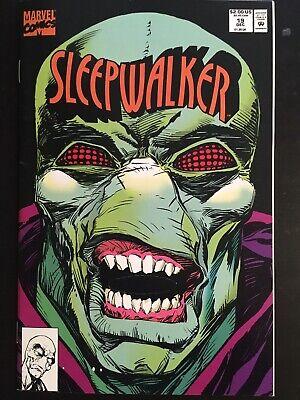 Halloween Cover Pics (SLEEPWALKER #19 (Dec 1992 Marvel) Die-Cut Sleepwalker Halloween Mask Cover!)