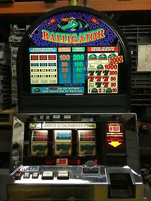 Bally 6000 Balligator 3 coin SLOT MACHINE