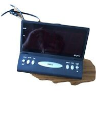 Genuine Elgin Digital Alarm Clock 2 LCD Large Display Alarm Clock Only
