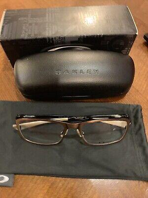 Oakley Hollowpoint Antique Copper OX5075-0353  Titanium Rx Eyeglasses 53/18 138