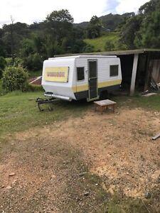 Windsor pop top caravan