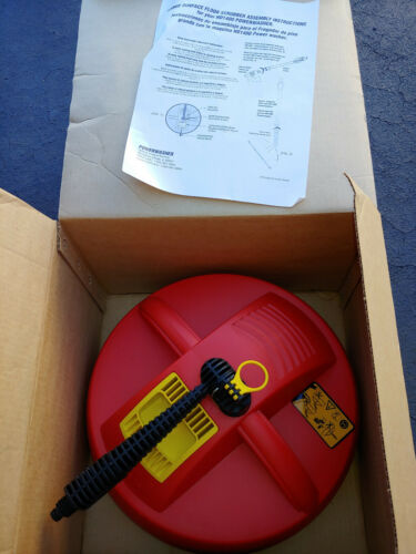 Large Surface Scrubber for Powerwasher HD1400. New In Box Old Stock KTR190218