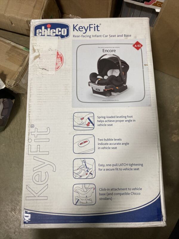 Chicco KeyFit Infant Car Seat -used