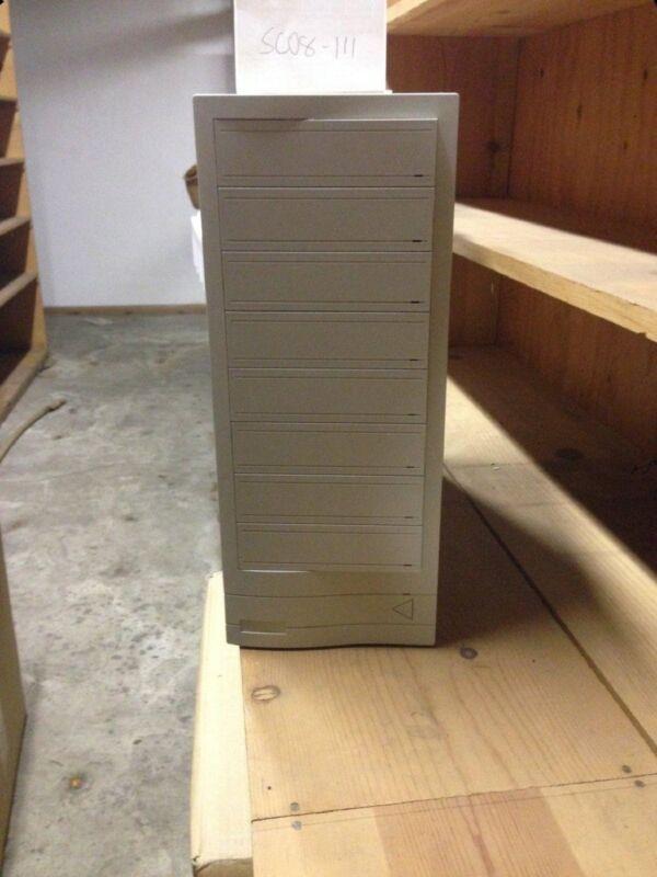 8 Bay Drive Multi Storage Tower 50 Pin SCSI Build RAID Optical Server Enclosure