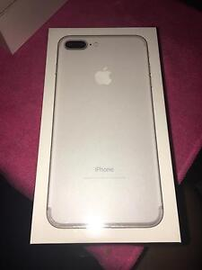 Brand new iPhone 7 plus 32GB silver unlocked Guildford Parramatta Area Preview