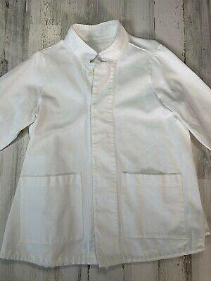 LABO.ART Jacket Shirt Size 1 White Made in Italy w/ Drawstring