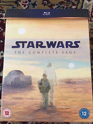 Star Wars Complete Saga Blu Ray