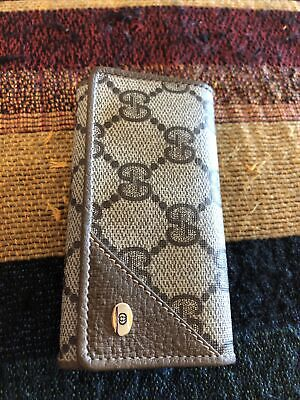 Authentic Gucci Keycase / Key Wallet Vintage Gucci Accessory Collection