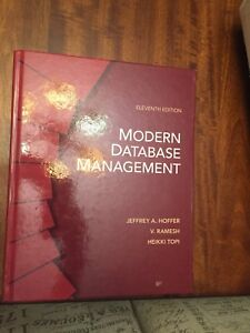 Modern database management 11th edition