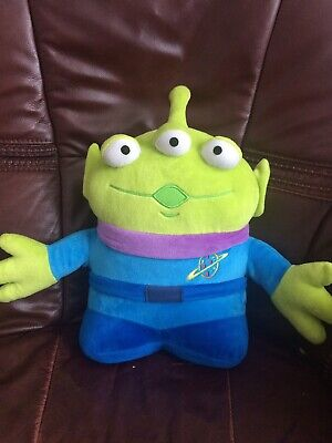 """STAMPED Disney Store Toy Story 2 3 4 SPACE ALIEN - 13"""" Plush Soft Toy"""