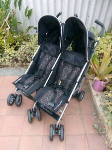 Double Pram Side by Side – Babylove Odyssey – Coronavirus Free